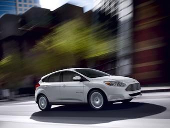 Компания Ford представила серийный электрокар Focus