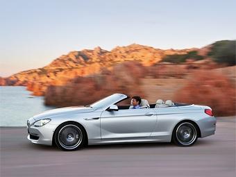 Компания BMW объявила российские цены на новый кабриолет 6-Series