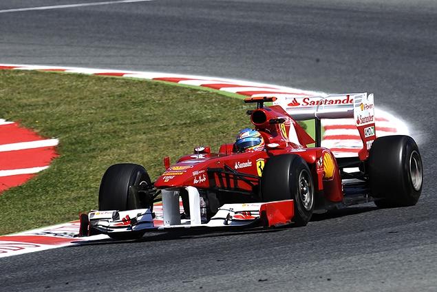 Феттель едва не упустил победу в Гран-при Испании. Фото 2