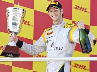 Новый сезон чемпионата GP2 начался с победы Романа Гросжана
