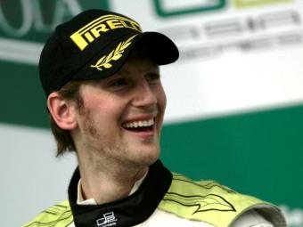 Роман Гросжан стал чемпионом зимней серии GP2 Asia