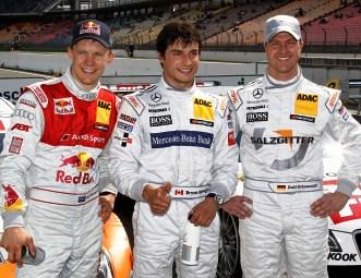 Ральф Шумахер финишировал третьим на первом этапе сезона DTM