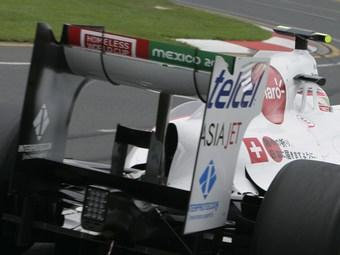 Гонщикам Формулы-1 запретили регулировать заднее антикрыло в дождь