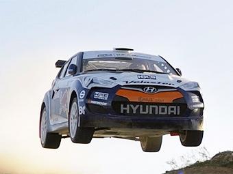 Асимметричный хэтчбек Hyundai Veloster поедет в ралли
