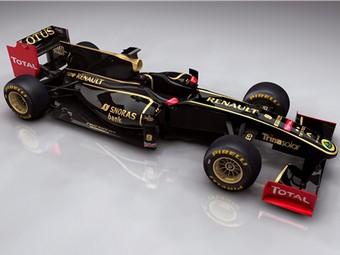 Команда Lotus Renault GP будет выступать под британской гоночной лицензией