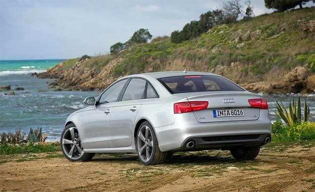 Первый тест-драйв Audi A6 нового поколения. Фото 1
