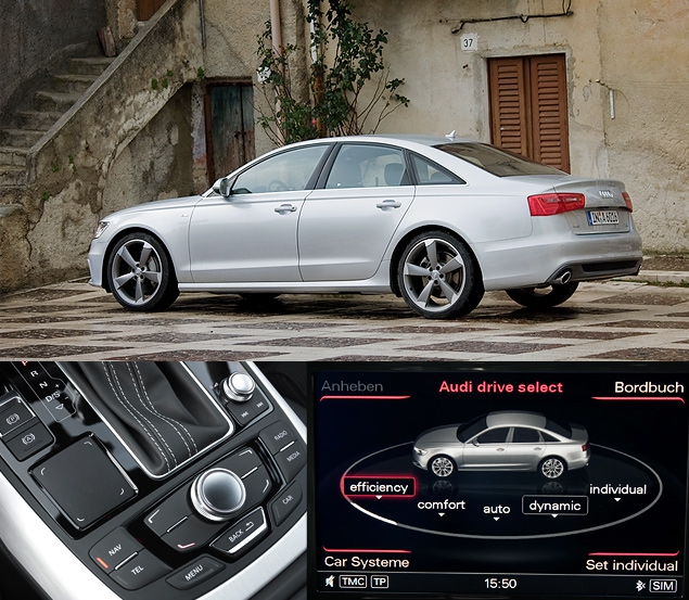 Первый тест-драйв Audi A6 нового поколения. Фото 3