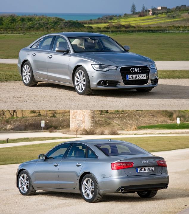 Первый тест-драйв Audi A6 нового поколения. Фото 6