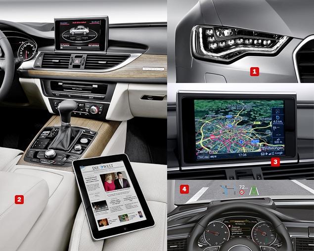 Первый тест-драйв Audi A6 нового поколения. Фото 7