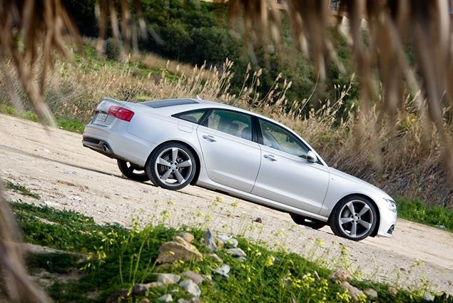 Первый тест-драйв Audi A6 нового поколения. Фото 8