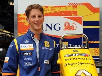 Нельсона Пике-младшего в команде Renault заменит гонщик GP2 Series