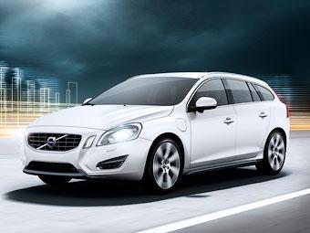 """Гибридный универсал Volvo разгонится до """"сотни"""" за 6,9 секунды"""