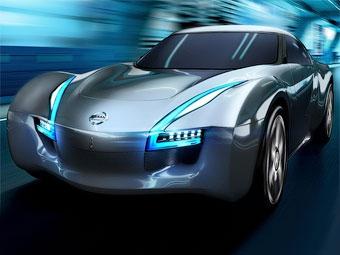 Компания Nissan показала прототип электрического спорткупе