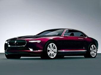 Появились фотографии концептуального седана Jaguar