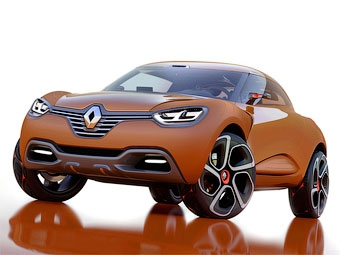 Renault привезет в Женеву маленький кроссовер