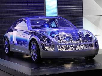 В Женеве дебютировало прозрачное купе Subaru