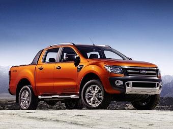 Рассекречен новый пикап Ford Ranger Wildtrak