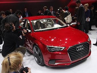 Компания Audi рассекретила прототип нового A3