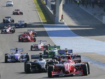 """Организаторы """"Формулы-Суперлига"""" опубликовали календарь на 2009 год"""