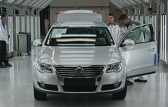 Volkswagen приступил к производству VW Passat и Skoda Octavia в России