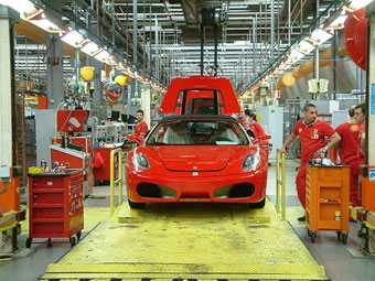 Работники Ferrari провели забастовку
