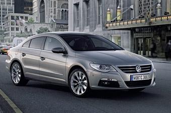 Volkswagen привез в Детройт четырехдверное купе Passat