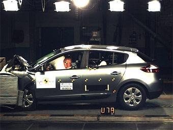 Новый Renault Megane получил высшие оценки в краш-тестах Euro NCAP