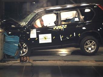 EuroNCAP испытал новый Nissan X-Trail на безопасность