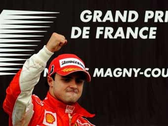 Пилоты Ferrari сделали дубль на Гран-при Франции