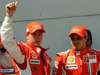 Райкконен выиграл поул-позишн на квалификации Гран-при Франции