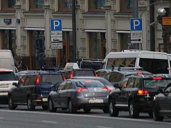 """С московских парковок уберут знаки """"Платные услуги"""""""