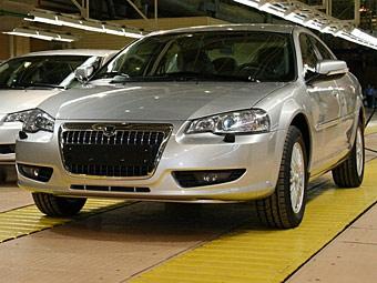 Началось серийное производство седана Volga Siber