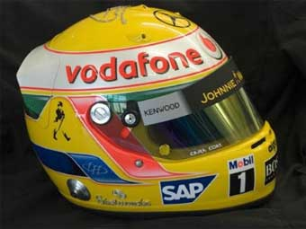 Льюис Гамильтон проведет Гран-при Монако в инкрустированном алмазами шлеме