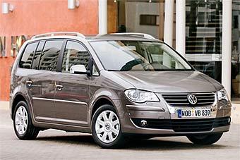Обновленный VW Touran покажут в Париже
