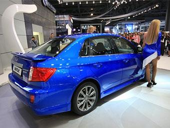 265-сильная Subaru Impreza WRX появится в России через несколько недель