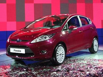 Объявлены российские цены на хэтчбеки Fiesta нового поколения
