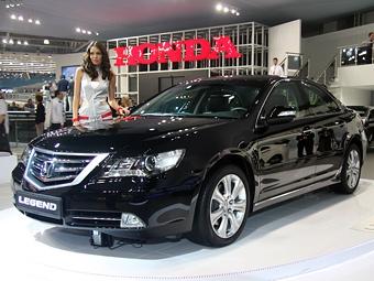 В Москве прошла премьера обновленного седана Honda Legend