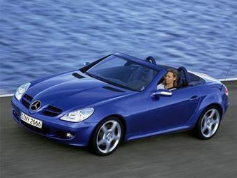 Обновленный Mercedes SLK представят в 2008 году