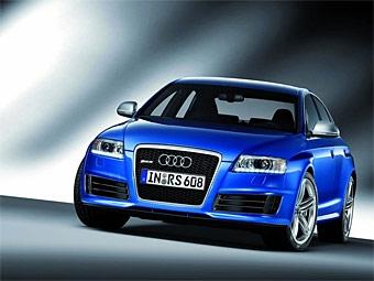 Самую мощную версию седана Audi A6 представят в Москве