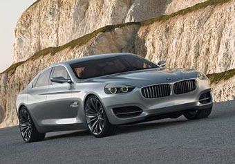 """BMW сделала четырехдверное купе на базе новой """"семерки"""""""