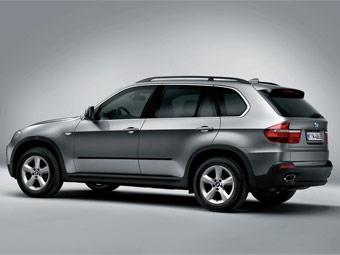 Компания BMW показала бронированный X5