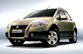 Fiat Sedici появится в России в 2007 году