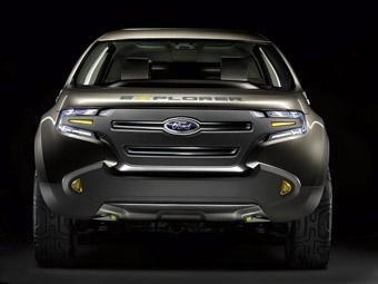 Ford представит в Детройте концепт Explorer America
