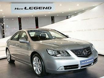 Компания Honda обновила седан Legend