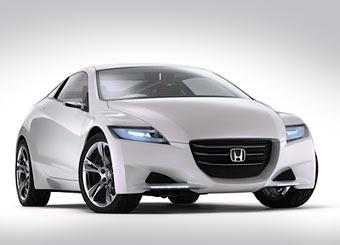 Honda показала гибридное спорт-купе