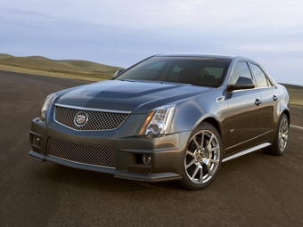 Cadillac представил 550-сильный седан CTS-V
