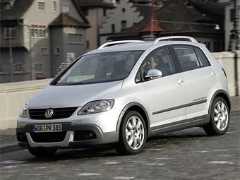 """В России начались продажи """"внедорожного"""" VW CrossGolf"""