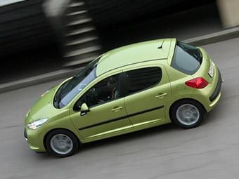 Peugeot 207 стал самым продаваемым автомобилем Европы
