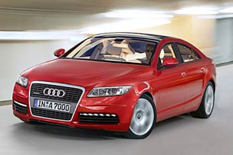 Audi готовит конкурента Mercedes CLS