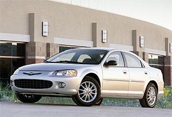 """Группа """"ГАЗ"""" получила льготы на производство Chrysler Sebring"""